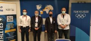 حسین المسلم: برای کمک به رشد شنای ایران آمادگی داریم