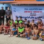 جشنواره شنا به مناسبت بزرگداشت روز جهانی فدراسیون بین المللی شنا ویژه پسران در استخر رو باز قصر موج تهران برگزار شد.