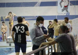گزارش تصویری_ استارت روز دوم مسابقات مسافت کوتاه انتخابی تیم ملی شنا