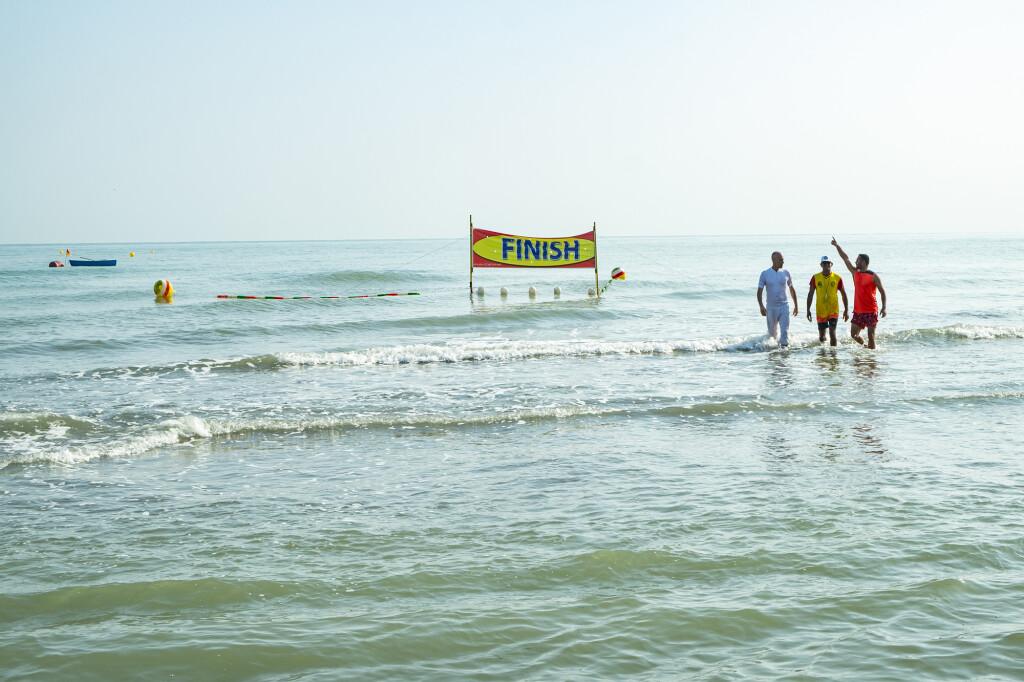 شنای آب های آزاد