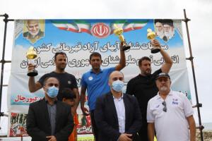 گزارش تصویری _ مسابقات شنا آب های آزاد جام بزرگسالان
