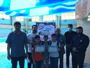 مرحله اول المپیاد استعدادهای برتر مدارس شنای استان اصفهان + نتایج