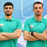 در روز نخست مسابقات جام جهانی مسافت کوتاه قطر متین بالسینی در ماده 400 متر آزاد و سینا غلامپور در ماده 50 متر آزاد رکورد ملی را شکستند.